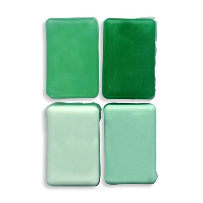 Clean Your Room Green! Liquid Gel Tone in Soap Making of CP