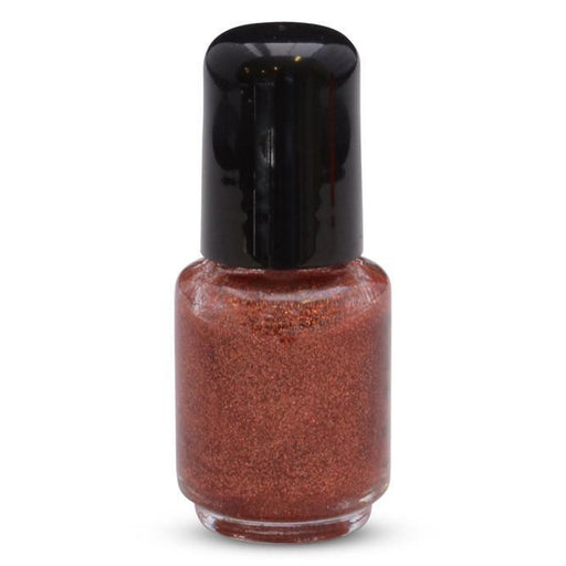 Copper Tango Solvent Resistant Glitter in Nail Polish