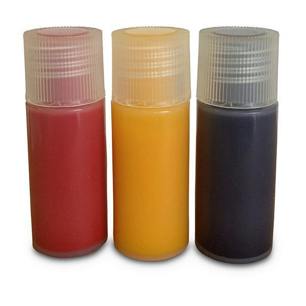 7ml Nail Polish Pack: Red/Yellow/Blue