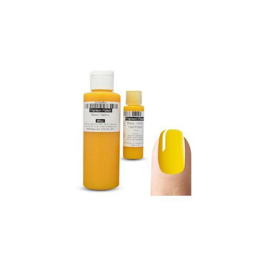 TKB Basic Yellow Nail Polish