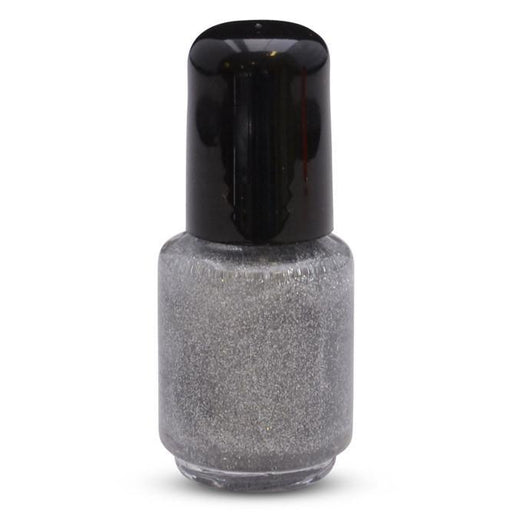 Silver Glitter, Microfine in Nail Polish