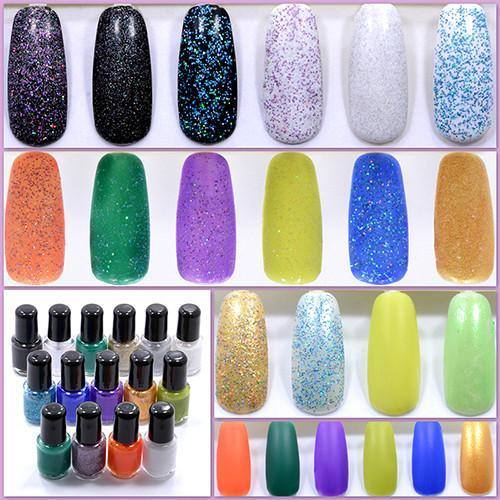 Examples of what we made with TKB Nail Polish Kit