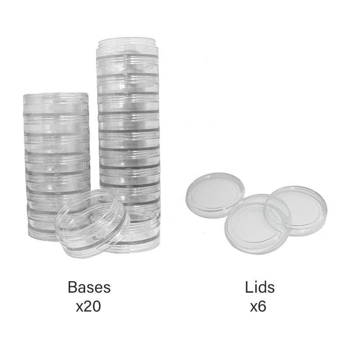 Jars: Stackable 20 Gram Jars