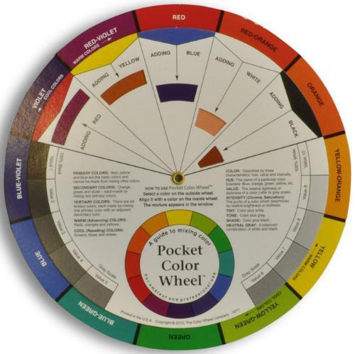 Color Wheel Learn to Mix Colors