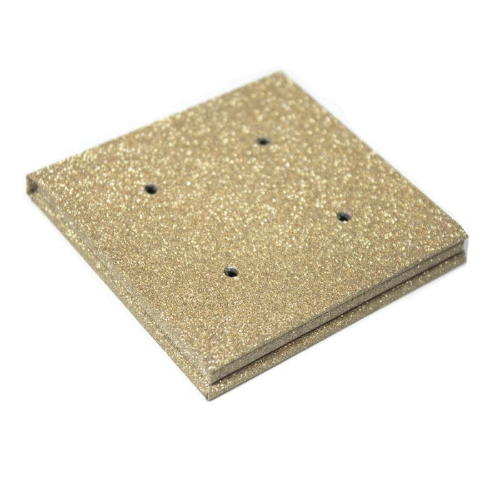 26mm Glittery Gold Palette 4 Cavity