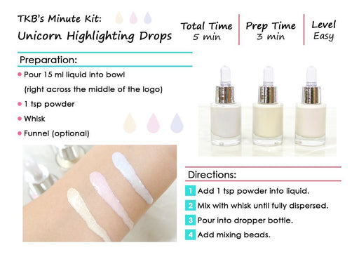 Unicorn Highlighting Drops Minute Kit