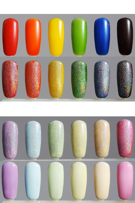7ml Nail Polish Pack:  TKB's Magic Triplet - TKB Trading LLC