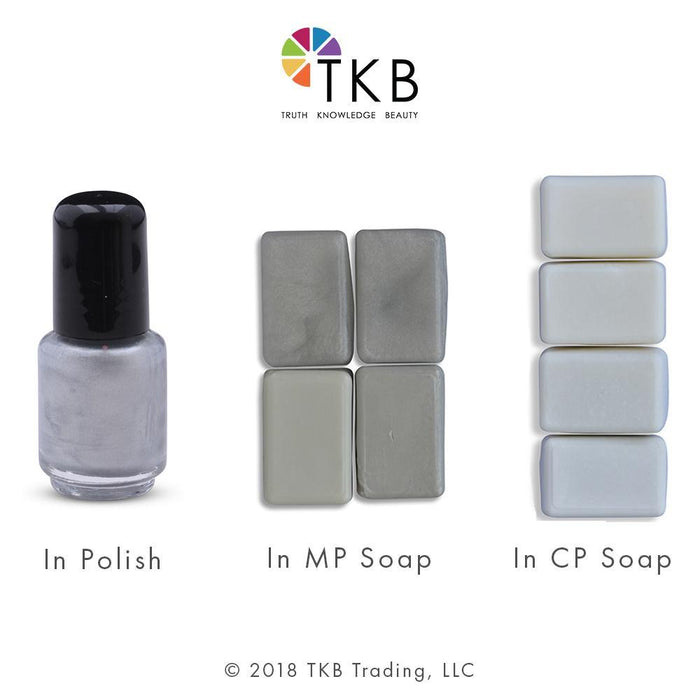 TKB Metallic White