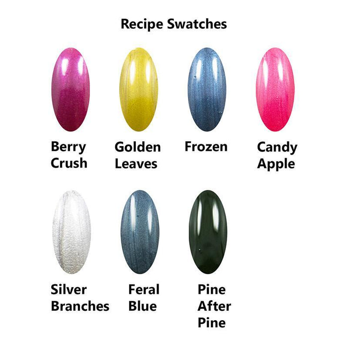 TKB Nail Polish Color Concentrates: 17 Colors Collection