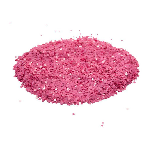 Coral Pink Dot Glitter