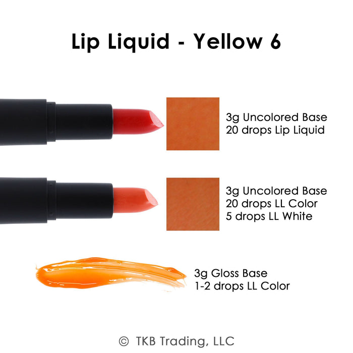 Lip Liquid - 11 Dyes Collection