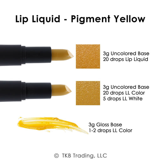 TKB Lip Liquid - Pigment Yellow