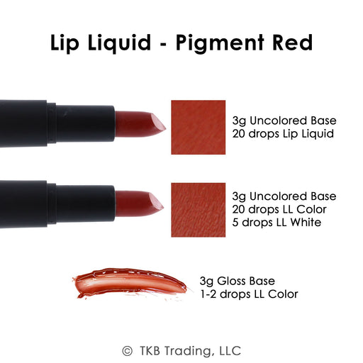 TKB Lip Liquid - Pigment Red