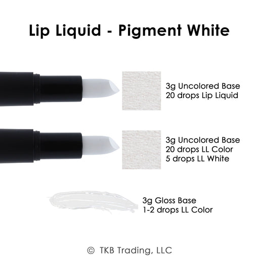 TKB Lip Liquid - Pigment White