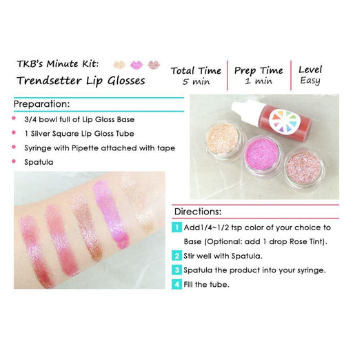 Trendsetter Lip Glosses Minute Kit