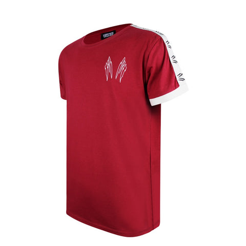 Malice Red Embroidered T