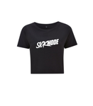 Sickmode Black Organic Crop