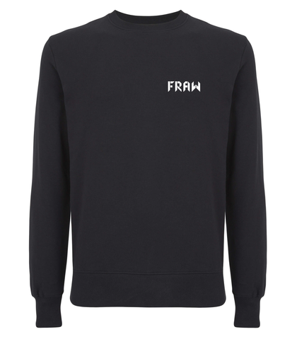 Fraw Back Bull Sweatshirt - Black
