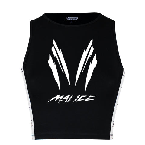 Malice Black Crop Top