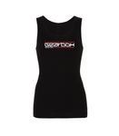 Gearbox Digital Black Womens Vest Top