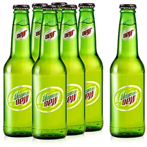 Mountain Dew Carbonated Soft Drink, Glass Bottle, 250 ml X 24 - ClicknCollect