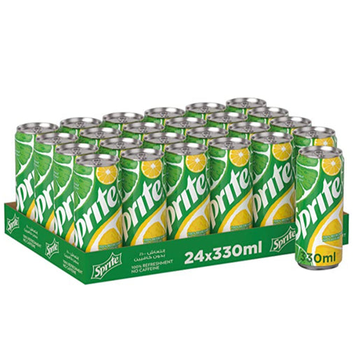 Soft Drink Sprite Cans 330ml Pack Of 24 - ClicknCollect
