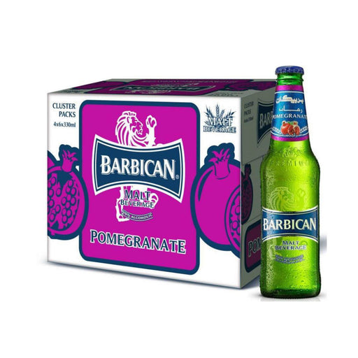 Barbican Non Alcoholic Malt Drink in Glass Bottle, 24 x 330 ml - ClicknCollect