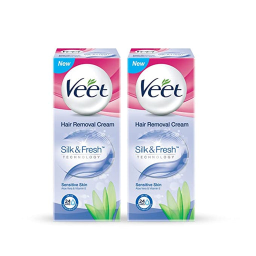 Veet Hair Removal Cream Sensitive Skin 100g X 2 - ClicknCollect