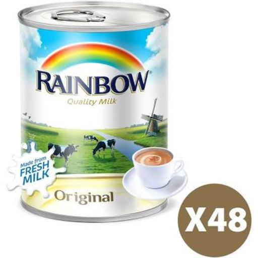 Rainbow Original Evaporated Milk, 48 Cans X 410g - ClicknCollect
