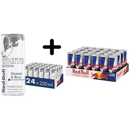 Bundle Offer - Redbull White + Regular - ClicknCollect