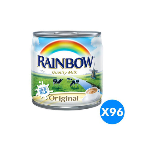 Rainbow Original Evaporated Milk, 96 Cans X 170g - ClicknCollect