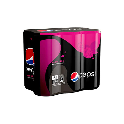 Pepsi Black Raspberry Soft Drink, 24 Cans x 355ml - ClicknCollect