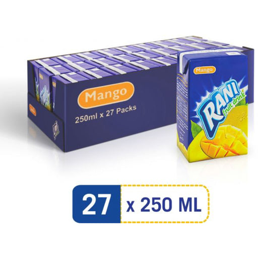 Rani Fruit Juice Drink, 250ml - Pack of 27 - ClicknCollect