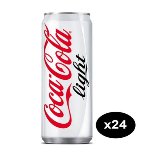 Coca Cola Light Can 330ml Pack of 24 - ClicknCollect