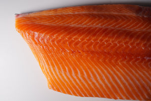 Sashimi Cut Salmon Fillet 10 lbs