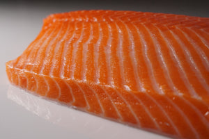 Sashimi Cut Salmon Fillet 5 lbs