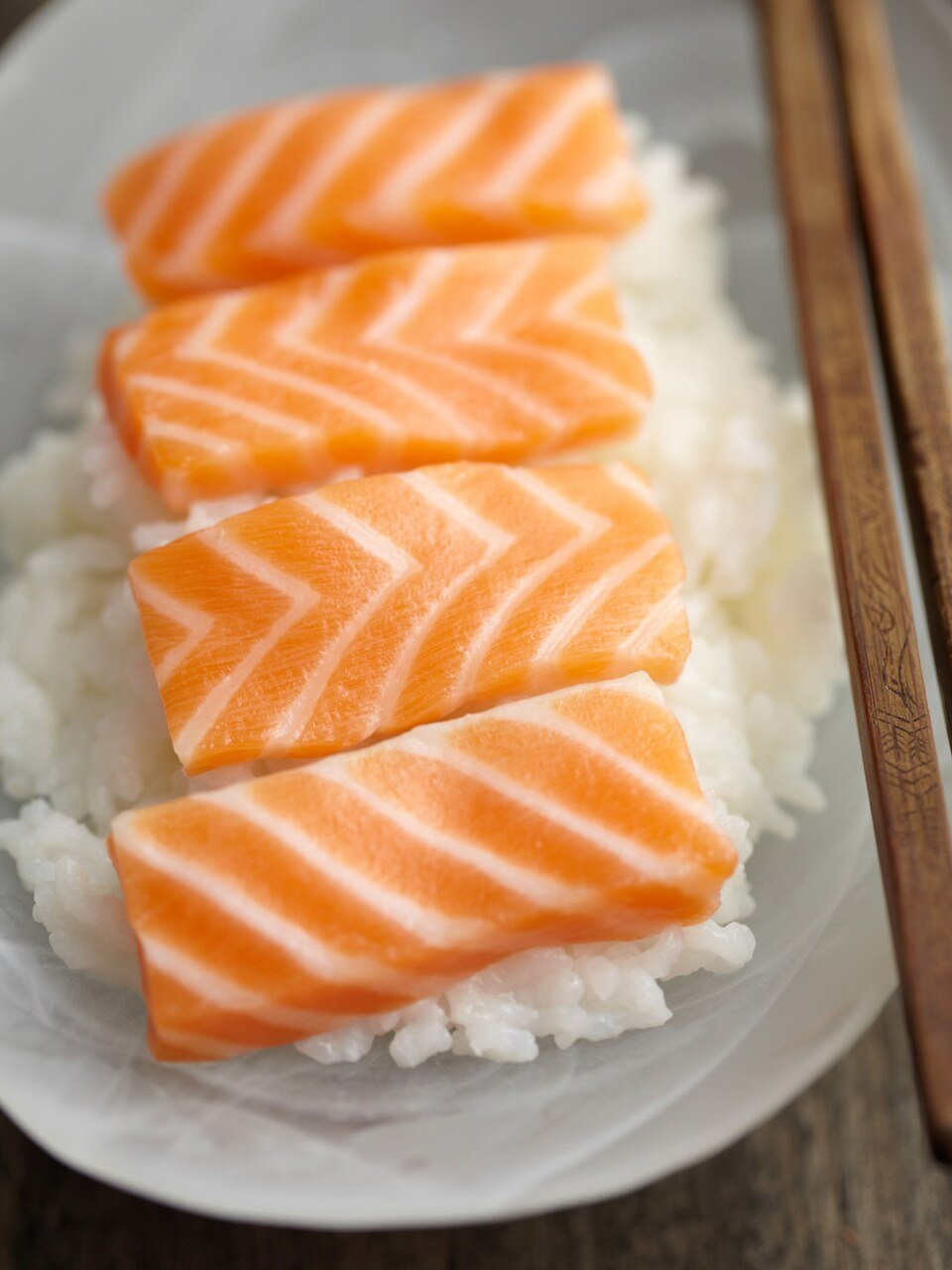 Sashimi Cut Salmon Fillet 20 lbs