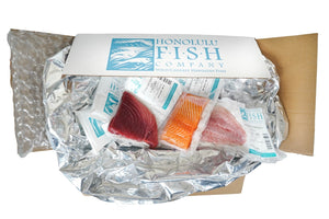 Honolulu Fish Co Sashimi Three-Pak 3 lbs