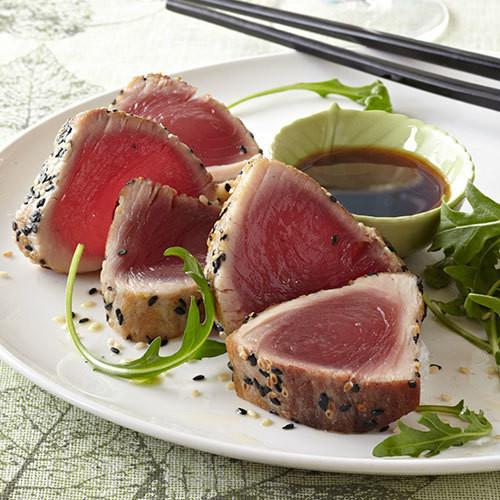 Hawaiian Bright Red Albacore Ahi Sashimi Cut 3 lbs