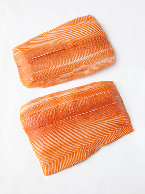 Sashimi Cut Salmon Fillet 30 lbs