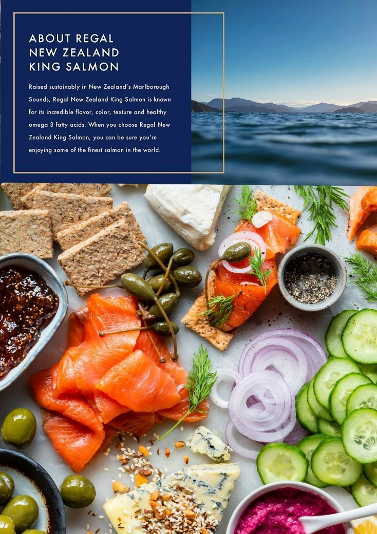 New Zealand Smoked King Salmon Four Unique Flavors