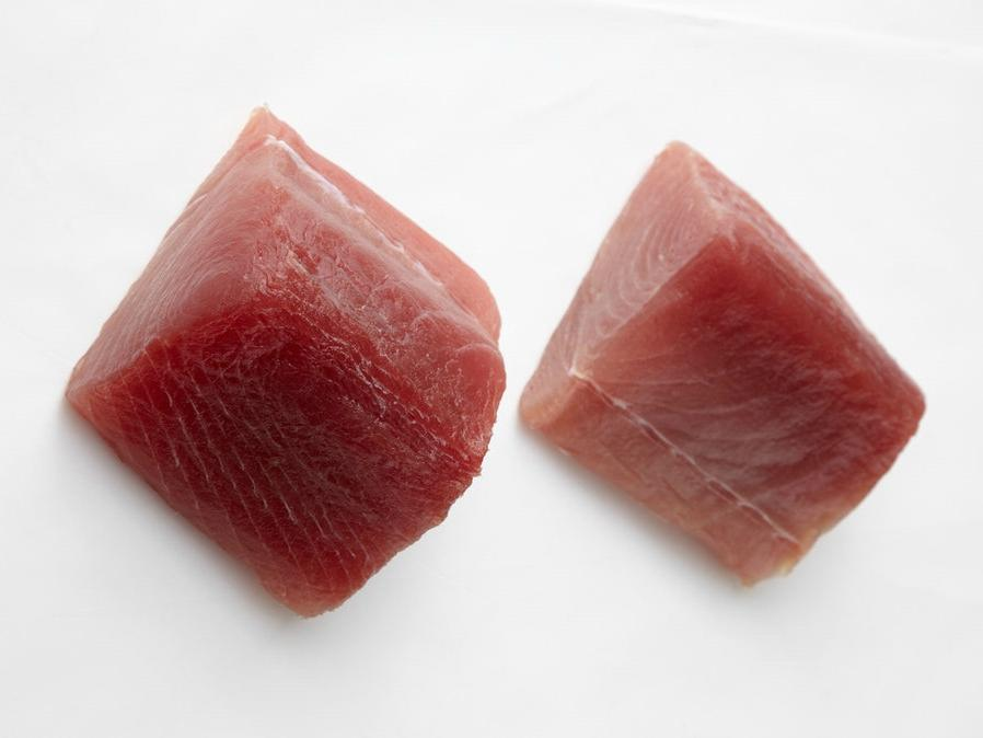 Hawaiian Bright Red Albacore Ahi Sashimi Cut 5 lbs