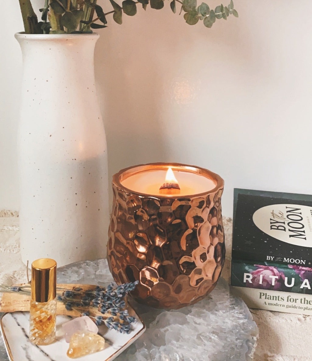 DUSTY ROSE candle