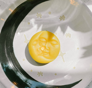 Sun & Moon Beeswax Candle