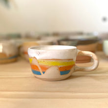 Load image into Gallery viewer, Rainbow stripe cup