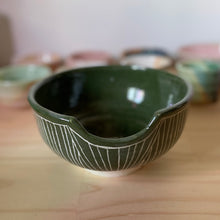 Load image into Gallery viewer, Forest green vessel