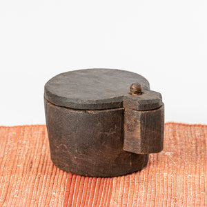 Load image into Gallery viewer, Vintage Wooden Salt Box