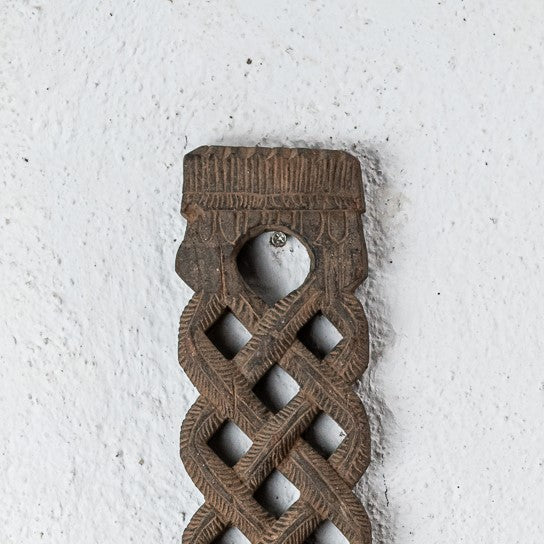 Vintage Braided Spoon Holder