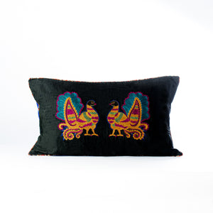 Kalamkari inspired Annapakshi cushion cover