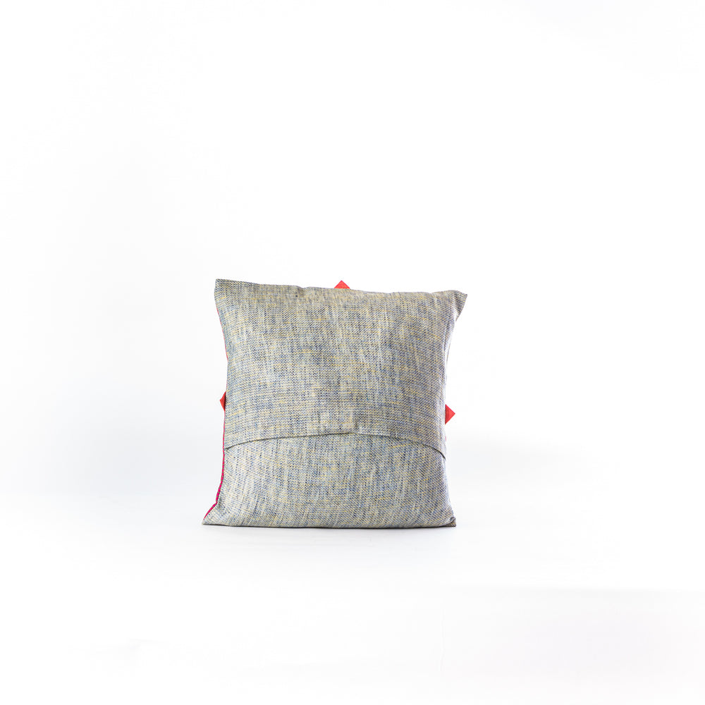 Patchwork blocks cushion cover